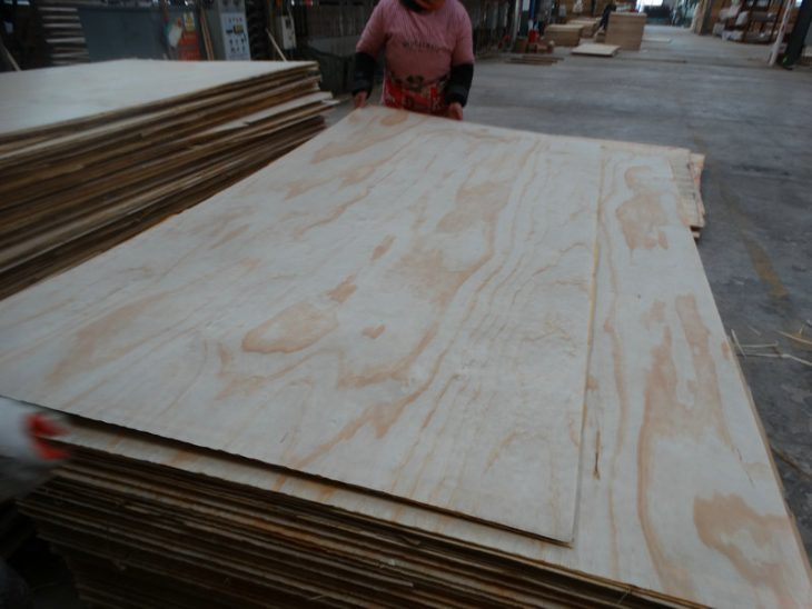 Cabinet and Furniture Grade Radiata Pine plywood